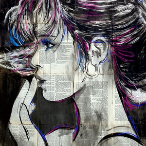 (CreativeWork) WEAVE by loui jover. drawing. Shop online at Bluethumb.