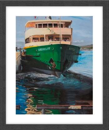 (CreativeWork) Framed print - Queenscliff at Manly Ed. 4 of 30 by Rob Kennedy. Print. Shop online at Bluethumb.