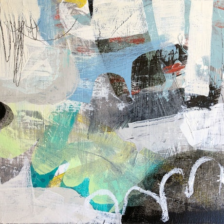 (CreativeWork) Engage memory by Jan Allsopp. Mixed Media. Shop online at Bluethumb.
