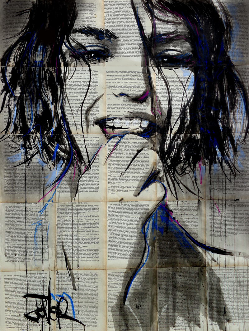 (CreativeWork) FLOWERS by loui jover. Drawings. Shop online at Bluethumb.