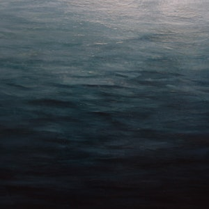 (CreativeWork) Still Waters by GEOFF WINCKLE. oil-painting. Shop online at Bluethumb.