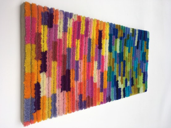 (CreativeWork) Vivid Diptych by Rachel Robertson. Other Media. Shop online at Bluethumb.