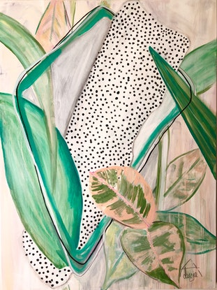 (CreativeWork) Gum Leaves Entwined   by Lizzie Alsop. #<Filter:0x00007fc1e288e748>. Shop online at Bluethumb.