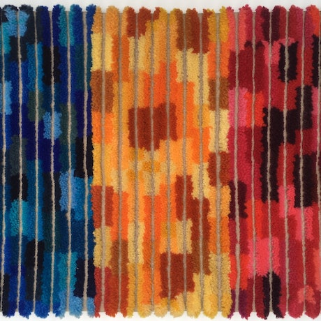 (CreativeWork) Carpet Triptych by Rachel Robertson. Other Media. Shop online at Bluethumb.