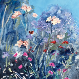 (CreativeWork) Flowers of Larnach by Meredith Howse. #<Filter:0x00007f00f51316c0>. Shop online at Bluethumb.