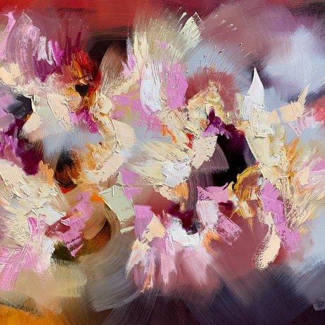 (CreativeWork) Incandescence  by Catherine Hiller. Oil Paint. Shop online at Bluethumb.