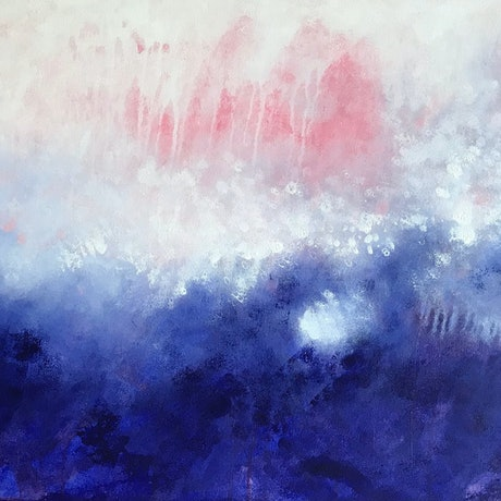 (CreativeWork) In the Deep by Yvette Swan. Mixed Media. Shop online at Bluethumb.