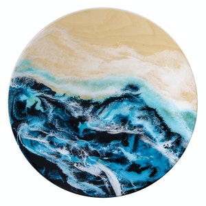 (CreativeWork) Entwined Shore by Belinda Doyle. resin. Shop online at Bluethumb.
