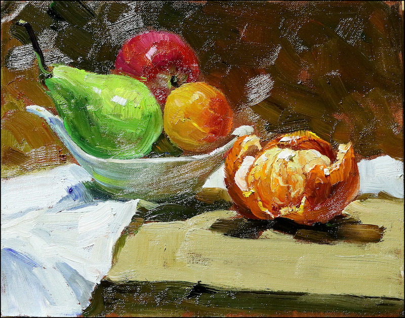 (CreativeWork) Still life 86 by Yuan Fu. oil-painting. Shop online at Bluethumb.