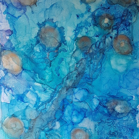 (CreativeWork) Turtles playground by Tina Dawes. Other Media. Shop online at Bluethumb.