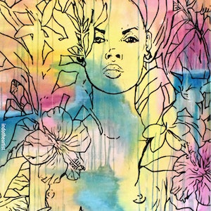 (CreativeWork) Aphrodite by INDO The Artist. #<Filter:0x00007fa57c74f3a0>. Shop online at Bluethumb.