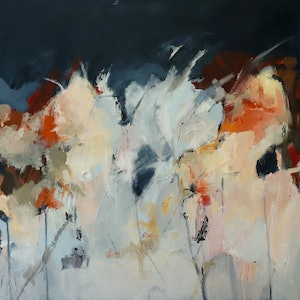 (CreativeWork) The sun took a Step Back by Brenda Meynell. arcylic-painting. Shop online at Bluethumb.
