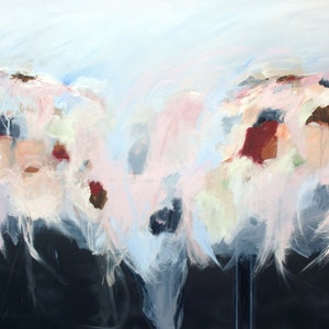 (CreativeWork) Whispers In The Dark by Brenda Meynell. arcylic-painting. Shop online at Bluethumb.