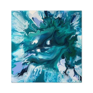 (CreativeWork) TORRENT by Deborah O'Loughlin. acrylic-painting. Shop online at Bluethumb.