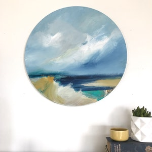 (CreativeWork) Quiet View by Marnie McKnight. arcylic-painting. Shop online at Bluethumb.