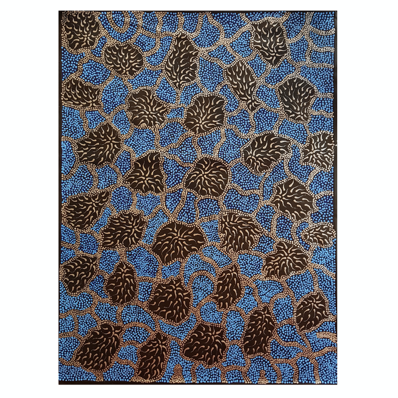 (CreativeWork) Minyma Tjukurla by Nerida Giles. arcylic-painting. Shop online at Bluethumb.
