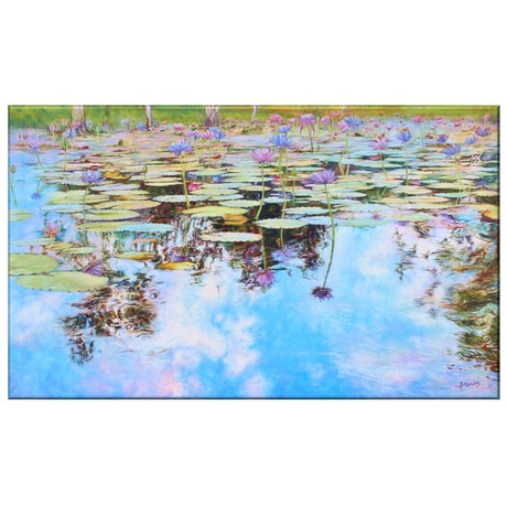 (CreativeWork) Waters of Walkerston Ed. 1 of 50 by In Sun Park. Reproduction Print. Shop online at Bluethumb.