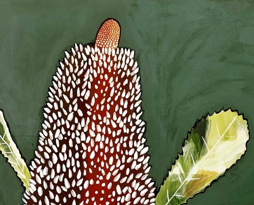 (CreativeWork) Banksia Portrait #2 by Kate Soady. #<Filter:0x00007f5998ab1aa0>. Shop online at Bluethumb.