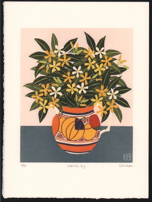 (CreativeWork) Clarice's Jug Ed. 3 of 35 by Kate Hudson. Print. Shop online at Bluethumb.