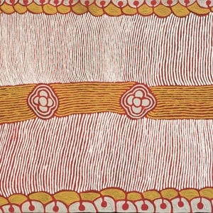 (CreativeWork) Janmarda 423-18 by Emily Andy Napaltjarri. acrylic-painting. Shop online at Bluethumb.