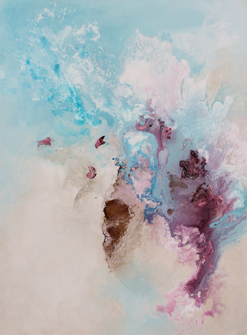 (CreativeWork) Fantasia by Sue Dyde. Mixed Media. Shop online at Bluethumb.