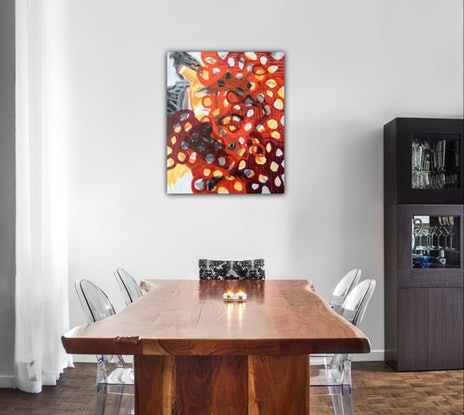 (CreativeWork) Winter Berries by Kathy Best. #<Filter:0x00007f00e413c298>. Shop online at Bluethumb.