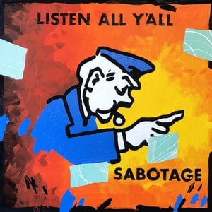 (CreativeWork) Sabotage! by Ben Tankard. arcylic-painting. Shop online at Bluethumb.