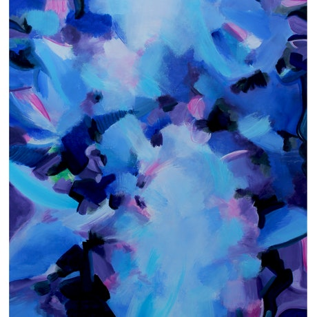 (CreativeWork) Kaleidoscope by Anne-Maree Wise. Acrylic Paint. Shop online at Bluethumb.