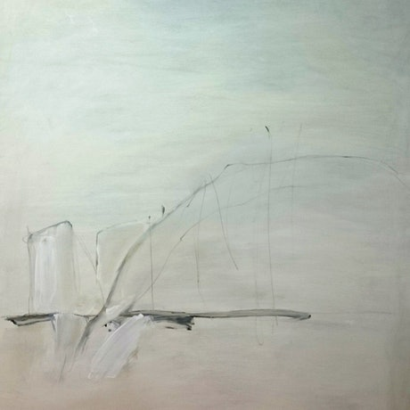 (CreativeWork) 53,000 Tonnes IV by Nicole Maguire. Oil Paint. Shop online at Bluethumb.