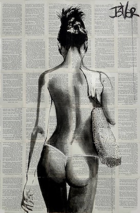 (CreativeWork) TRUE BLUE by loui jover. Drawings. Shop online at Bluethumb.