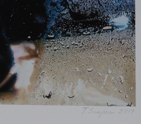 (CreativeWork) 'RAINY DAY' in White Box Frame Ed. 2 of 25 by Todd Simpson. Print. Shop online at Bluethumb.