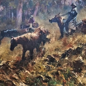 (CreativeWork) 'DANGEROUS RUN' - COLLECTIBLE....ICONIC!! ( as in Man from Snowy River) NEW PHOTOS by Robert Hagan. #<Filter:0x00007f59987f7508>. Shop online at Bluethumb.