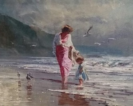 (CreativeWork) JUST A LITTLE PADDLE by Robert Hagan. #<Filter:0x00007f59980ac5a0>. Shop online at Bluethumb.