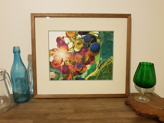 (CreativeWork) Lilac Wine by Rebecca Smalley. Drawings. Shop online at Bluethumb.