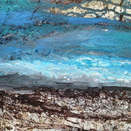 (CreativeWork) Before the Dawn by William Holt. Acrylic Paint. Shop online at Bluethumb.