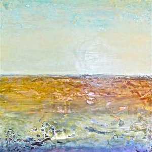 (CreativeWork) Big Sky Outback  by Jack Isbister. arcylic-painting. Shop online at Bluethumb.