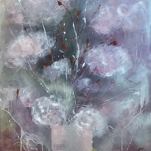 (CreativeWork) Calm and Free (Wordsworth) by Louise Croese. mixed-media. Shop online at Bluethumb.