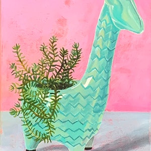 (CreativeWork) Still life with Gerry by Hayley Kruger. arcylic-painting. Shop online at Bluethumb.