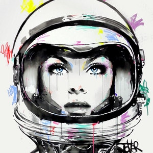 (CreativeWork) SUPERNOVA by loui jover. arcylic-painting. Shop online at Bluethumb.