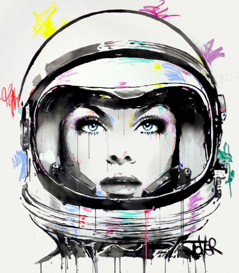 (CreativeWork) SUPERNOVA by loui jover. acrylic-painting. Shop online at Bluethumb.
