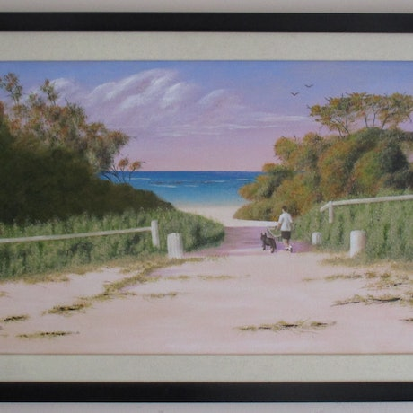 (CreativeWork) Esperance Afternoon by Beth McCormack. Acrylic Paint. Shop online at Bluethumb.