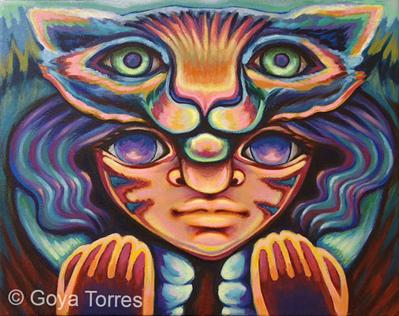 (CreativeWork) Children of the Sun Two by Goya Torres. Other Media. Shop online at Bluethumb.