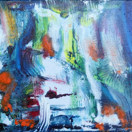 (CreativeWork) Untitled IV by Colin Avosa. Oil Paint. Shop online at Bluethumb.