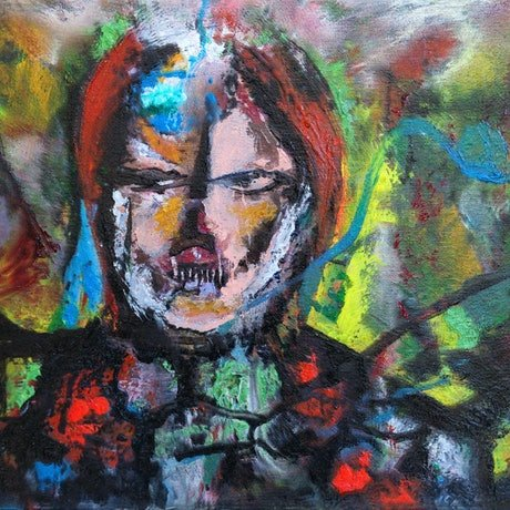 (CreativeWork) Many Faces by Colin Avosa. Oil Paint. Shop online at Bluethumb.