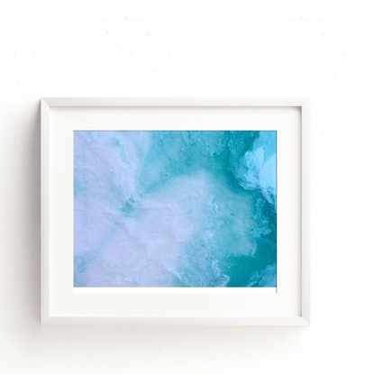 "(CreativeWork) ""Tides"" Ed. 1 of 2 by Stephanie Lisa. Print. Shop online at Bluethumb."