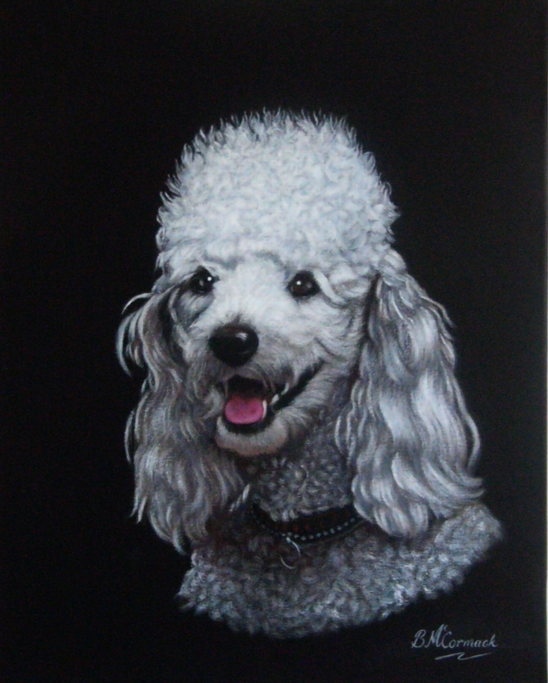 (CreativeWork) Lucky by Beth McCormack. Acrylic Paint. Shop online at Bluethumb.
