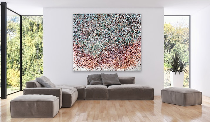 (CreativeWork) Black Pearl  by Theo Papathomas. Oil Paint. Shop online at Bluethumb.