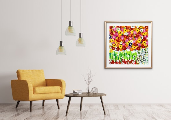 (CreativeWork) After The Storm by Warren Alexander. Acrylic Paint. Shop online at Bluethumb.