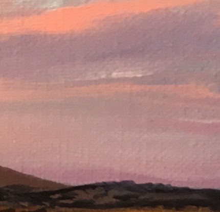 (CreativeWork) Volcano Study #2 by Philomena Carroll. Oil Paint. Shop online at Bluethumb.