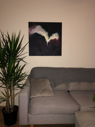 (CreativeWork) Mystic by juliet murray. Acrylic Paint. Shop online at Bluethumb.